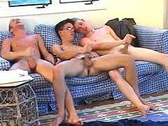 Six naughty twinks having a useful time of love