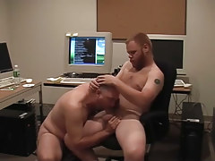 Matured gays pooch mcgee and david marx find office place to bang in 1 episode