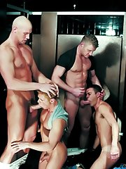 Trent Atkins::Ken Houser::Tommy Brandt::Danny Vox::Maxx Diesel in Gay XXX Pictures