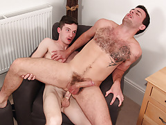 Riley Rides A Immense Uncut One - Daniel Scott And Riley Tess