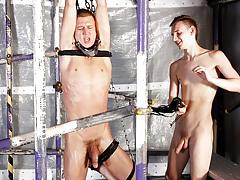 Weenie Sucking Edging Session - Josh Jared And Reece Bentley