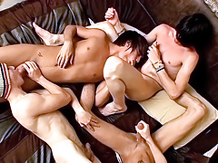 Foot Loving Fourgy Boys - Asher, Ryan, Brenden, Krist