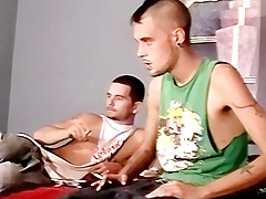 Straight Dick-holders Mutual Sucking - Brian And Aiden Pugsley