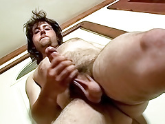 Volcano Cum -TrikinMatt's First Uncovered Audition - TrikinMatt