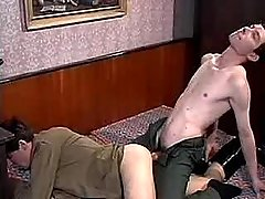 Twinks jizz mightily after anal sexual act
