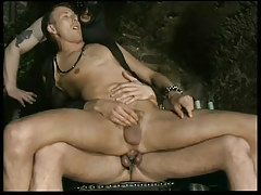 Infatuation leather gays in dungeon in 2 episode