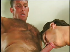 Hot navy gentleman getting taste of pecker in 4 episode
