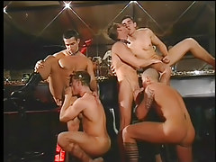 Gay club drinking all together turns likes big dong orgy in 2 episode