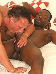Interracial gay porn