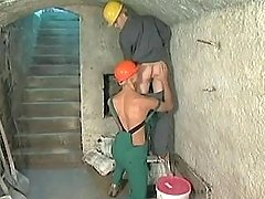 Gay worker spoils colleague after work