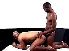 Black gay gets massive ass nailing