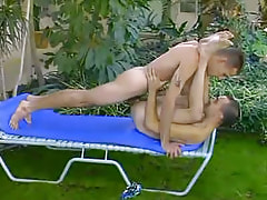 Nice gay guy creazy drills boo outdoor