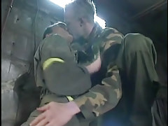 Ache gay twinks play with tongue in cellar