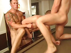 Muscle gays fuck tight males hole by bows