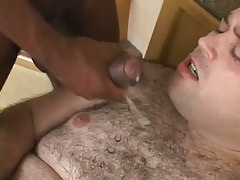 Lusty hairy dude gets hot cumload