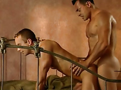 Vicious hunks fuck in doggy style