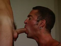Mature gay throats guys appetizing pride