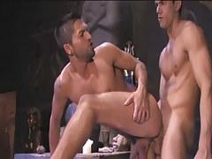 Beautiful Arabian gay penetrates in friend behind