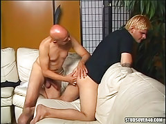 Lusty mature gay fingering appetizing gentlemen gap