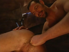 Mature unshaved gay fistfucks tight guys puncture