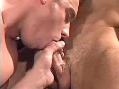 Soviet policemen sucking each other