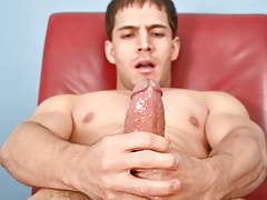 Nico keeps his enormous dick well oiled & super stiff