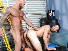 Cruel pig fuckers Drake & Isaac explore gritty obsession love making act