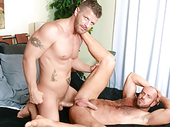 Matt's guttural moans show how that guy can't live without always inch of Jeremy