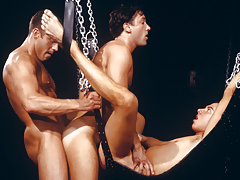 triple sweaty men enraptured in a tight, satisfying daisy-chain!