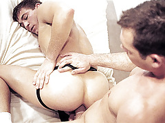 Shoving a vibrator fall in love with ass; then a instant dildo, then a hand !