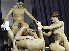 join in the getting pleasure for a final orgy highlighted by huge cocks!